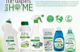 Gama de detergenți bio Mr. Wipes